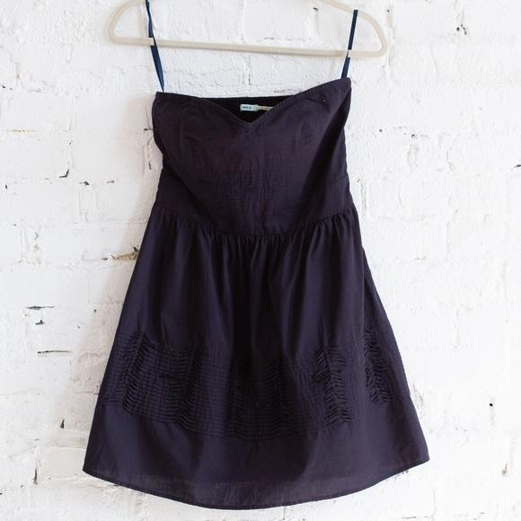 Kimchi Blue Dresses & Skirts - Strapless navy Kimchi Blue dress